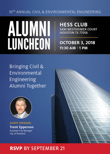 Civil Environmental Engineering Alumni Luncheon