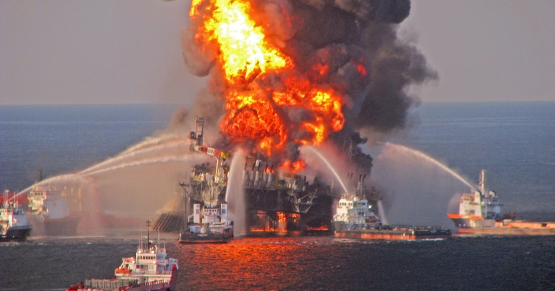 The BP Deepwater Horizon incident is the worst oil spill in U.S. history. Photo Credit: Associated Press