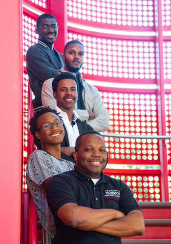 UH Professor Seeks Broader 'Windows of Opportunity' for Black Male Engineers