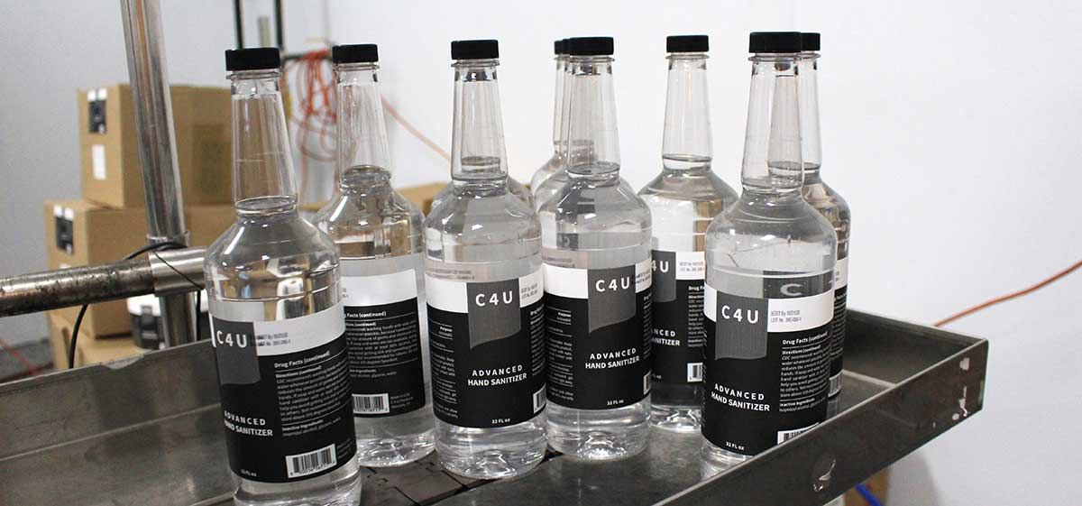C4U product — photo provided by distillery