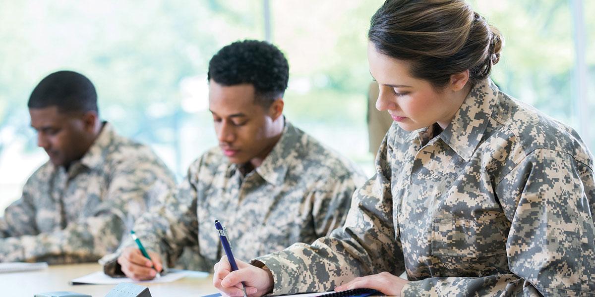 Grad Serves as a Mentor for Army Educational Outreach Program