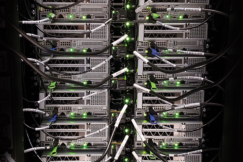 UH Unveils New Supercomputer