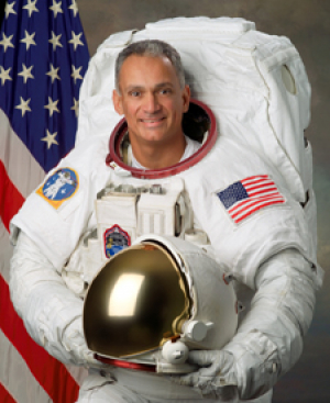 "John ""Danny"" Olivas (1993 MSME), Mission Specialist. Photo courtesy of NASA"