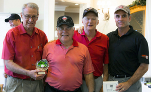 Low Gross Winners: Larry Witte's Team