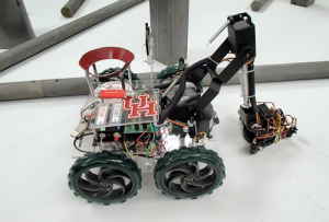 2013 UH Robotics Team placed third at the IEEE Region 5 Competition.