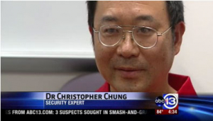 Industrial engineering associate professor Christopher Chung