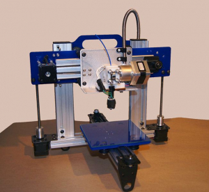 Example of a 3-D printer