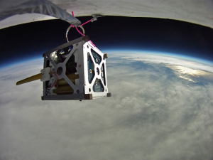 Small Satellite. Photo Credit: NASA.
