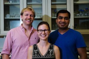 Matt Oleksiak, Katy Olafson, and Manjesh Kumar