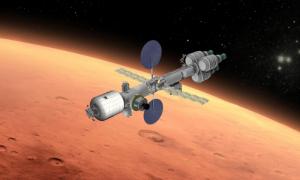 Mars Transit Vehicle (MAVE) conceived by Suzana Bianco and Shunsuke Miyazaki