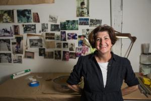 sculpture installation artist Jo Ann Fleischhauer