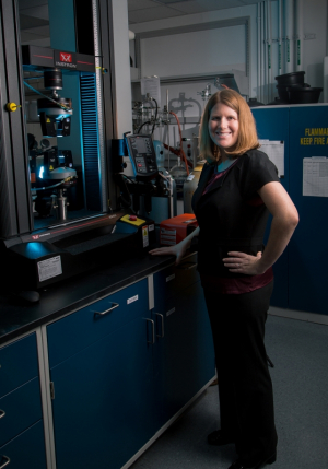 Megan Robertson, associate professor of chemical and biomolecular engineering, is coauthor of an article in the latest issue of Science, reporting that research is improving society's ability to recycle plastic waste