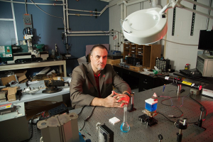 Professor Stanko Brankovic, first to understand speed of forming catalysts