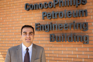 Ali Rezaei, the first UH petroleum engineering doctoral graduate, is researching engineering issues of unconventional reservoirs.
