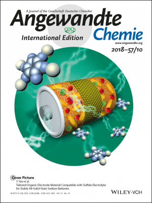 UH engineering researchers made Angewandte Chemie International Edition