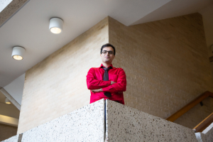 Mohammad Joshaghani, a Ph.D. student at the UH Cullen College of Engineering, wins top award with research.