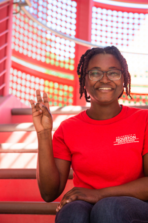 Priscella Asman, a graduate biomedical engineering student at the University of Houston, wins a prestigious AAUW fellowship.
