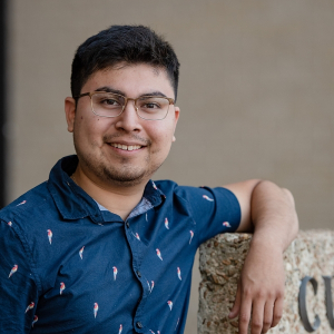 Rony Hernandez, chemical engineering senior at the UH Cullen College of Engineering.