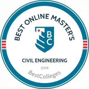 "The Cullen College program was No. 12 on the ""Best Online Master's in Civil Engineering Programs"" list recently published by BestColleges"