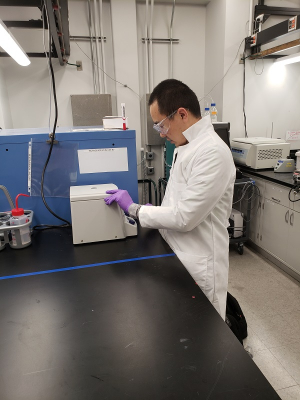 Bo Cao, a Cullen College of Engineering Ph.D. candidate, won a a 2019 Graduate Student Award in Environmental Chemistry from the ACS.