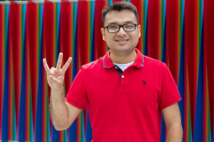 Jesus Silva Rodriguez, a UH electrical engineering major, will be working at the Technical University of Dortmund.