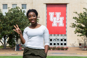 Mary Olear, a UH industrial engineering major, will work at the Technical University of Dortmund.