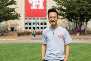 Joshua Tran, a first-generation college student and UH chemical engineering major, will work at the Technical University of Braunschweig.