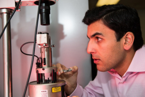 Hadi Ghasemi, Bill D. Cook Assistant Professor of mechanical engineering at the Cullen College of Engineering.