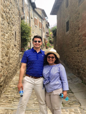 Isabella Torres & Joaquin Maldonado, UH Cullen College of Engineering undergraduates, share their on-campus love story.