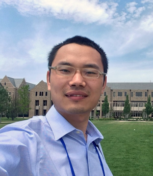 Jie Chen, a doctoral candidate in materials science and engineering at the UH Cullen College of Engineering and first author of the article.