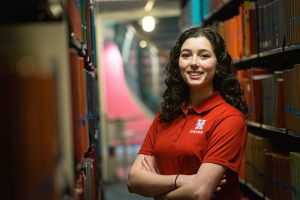 Laura Malcotti-Sanchez, UH Cullen College of Engineering Outstanding Junior, is busy exploring career options.
