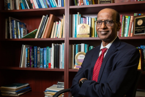Kaushik Rajashekara, distinguished professor of electrical and computer engineering at the UH Cullen College of Engineering.