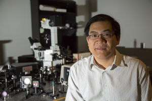 Wei-Chuan Shih, associate professor of electrical and computer engineering at the UH Cullen College of Engineering, won the 2019 Rising Innovator Award.