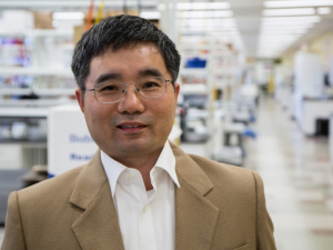 Tianfu Wu, assistant professor of biomedical engineering, is leading a $2 million project, developing a biomarker test and smartphone-based system for disease monitoring and home care