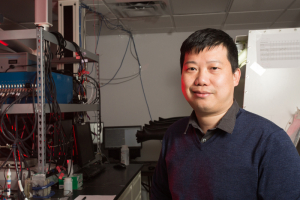 Yan Yao, associate professor of electrical and computer engineering at the UH Cullen College of Engineering and a principal investigator at the Texas Center for Superconductivity.