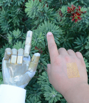 Cunjiang Yu, Bill D. Cook Associate Professor of Mechanical Engineering at UH, led a project to develop a multifunctional, ultra-thin wearable human-machine interface.