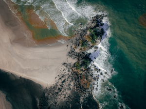 Researchers will use a $1.89 million grant from the U.S. Army Corps of Engineers to determine how to reconcile images collected by drone with more precise images, allowing them to better understand how terrain has changed over time. Image: Canva