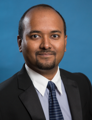 Harish Krishnamoorthy is leading a $2.5 million effort to develop compact electronic power systems.