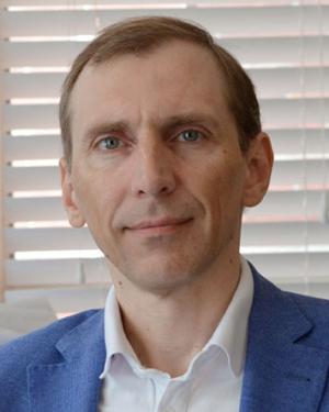 Maxim Olshanskii, professor of mathematics, co-PI on the grant.