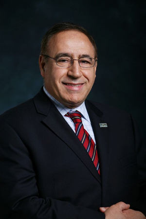 Dr. Metin Akay, the leader of the Akay Lab biomedical research team at the University of Houston's Cullen College of Engineering.