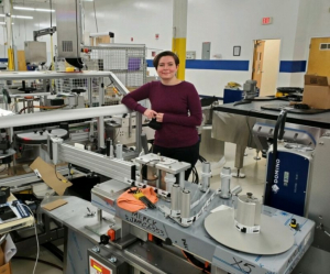 Austin Dodge, a December 2017 graduate of the Electrical and Computer Engineering Department, is now working at Weiler on industrial labeling of new COVID-19 vaccine labels.