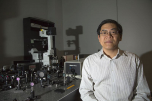 Wei-Chuan Shih, professor of computer and electrical engineering, has been awarded $2.7 million from the National Institute of Biomedical Imaging and Bioengineering to detect cancer biomarkers in blood by counting exosomes.