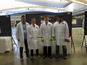Members of the UH Chem-E Car Team