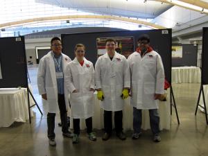 Members of the UH Chem-E Car Team