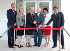 Leaders from the University of Houston and the energy industry celebrated the official dedication of the ConocoPhillips Petroleum Engineering Building.