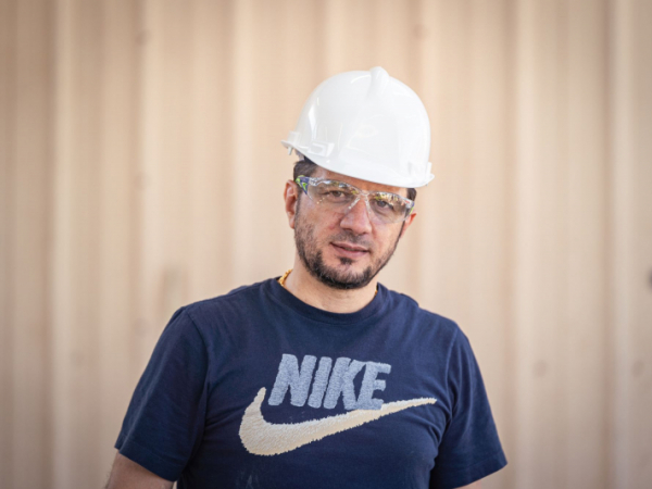 Omar Khalid is the 2021 recipient of the Paul and Helen Lenchuck Scholarship Program, administered by the National Concrete Masonry Association.