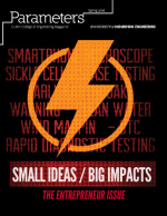 Small Ideas/Big Impacts: The Entrepreneur Issue