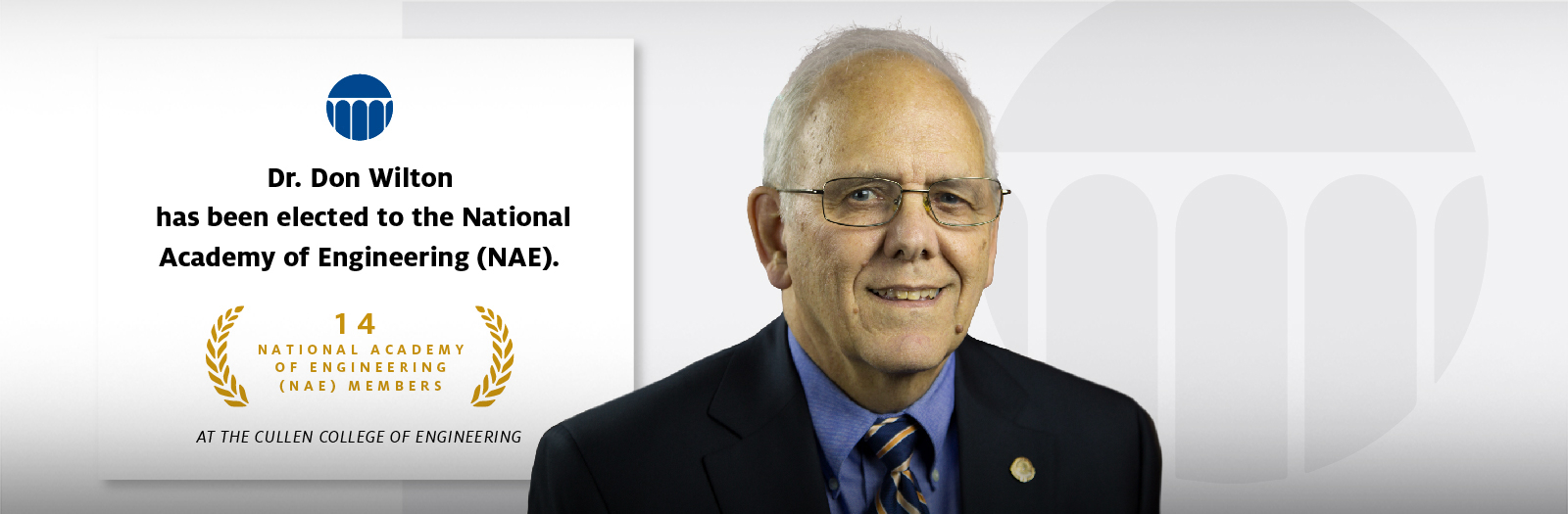 Dr. Don Wilton has been elected to the National Academy of Engineering (NAE)