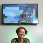 Andrea Albright will present her award-winning wave research using NASA's hyperwall at the upcoming AGU Conference