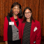 Sponsor Cynthia Oliver Coleman (left) with winner Tam Nguyen